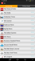 Screenshot of The Time of India News
