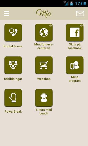 Mindfulnesscenter appen