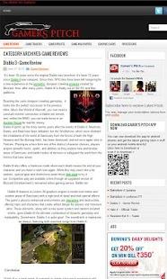 Gamers Pitch- screenshot thumbnail