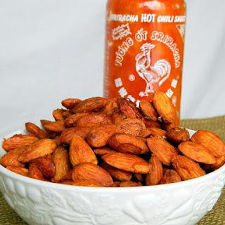 Sweet and Spicy Sriracha Almonds