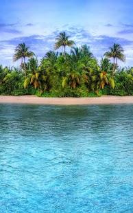 Paradise Island Live Wallpaper screenshot