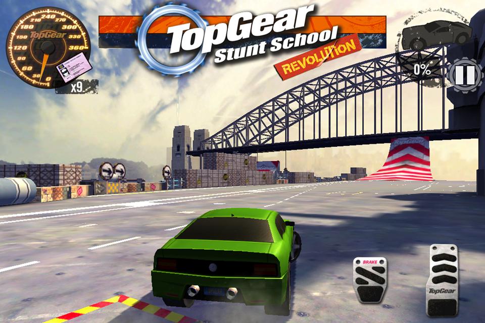 Top Gear: Stunt School SSR screenshot #11
