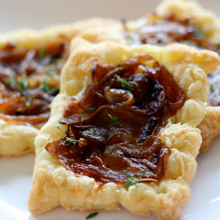 French Onion Tarts