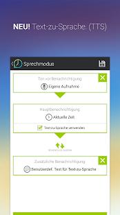 Sprechende Uhr & Timer – Miniaturansicht des Screenshots