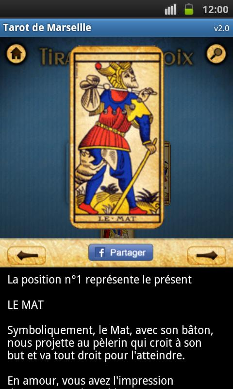 Tarot of Marseille - screenshot
