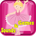 Ballet Dancer Games For Girls icon