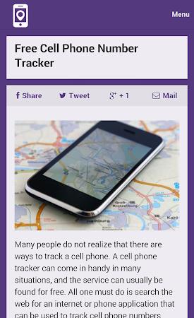 Mobile Number Tracker Tips 1.0 screenshot 9973