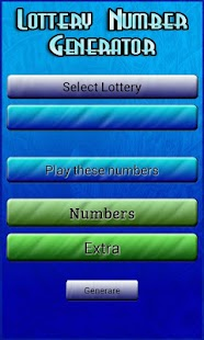 Lottery Numbers Generator Pro - screenshot thumbnail
