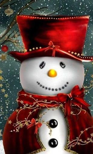 New Year Snowman LiveWallpaper