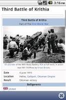 Screenshot of WW1Daily Lite