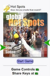 World Hotspots (Keys) - screenshot thumbnail