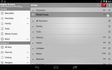 Mighty Shopping List Free screenshot 15