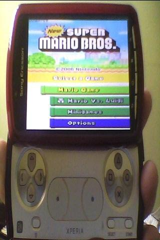 NDS emu - screenshot
