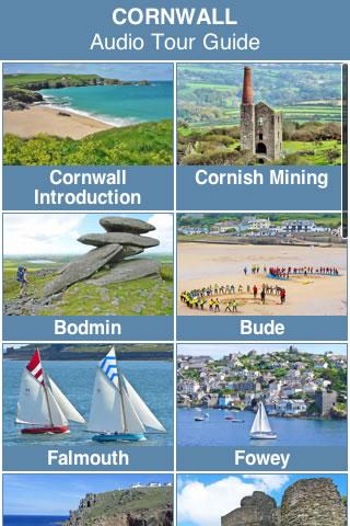 Cornwall Audio Tour Guide