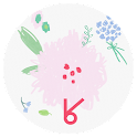 baby pink flower_ATOM theme icon