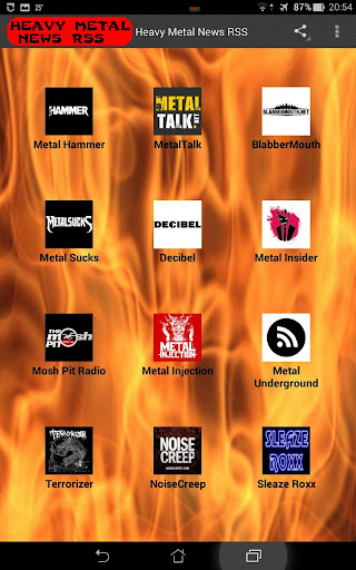 Heavy Metal News RSS
