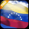 3D Venezuela Flag LWP icon