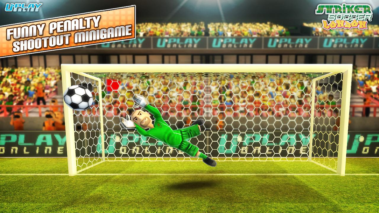 Striker Soccer London- screenshot