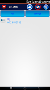 Hide SMS ,Private Message- screenshot thumbnail