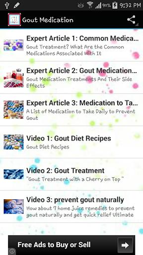 Gout Medication - Help