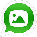 WhatsApp Images Share icon