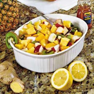 Ginger-and-Lemon Fruit Salad.