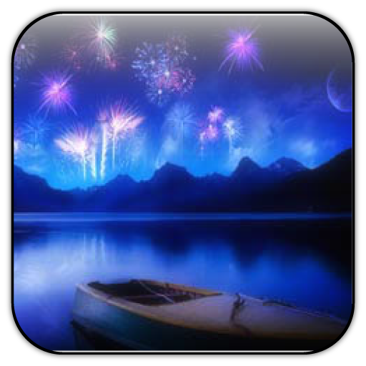 Fireworks live wallpaper 個人化 App LOGO-APP試玩