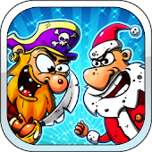Evil Santas Vs Angry Pirates