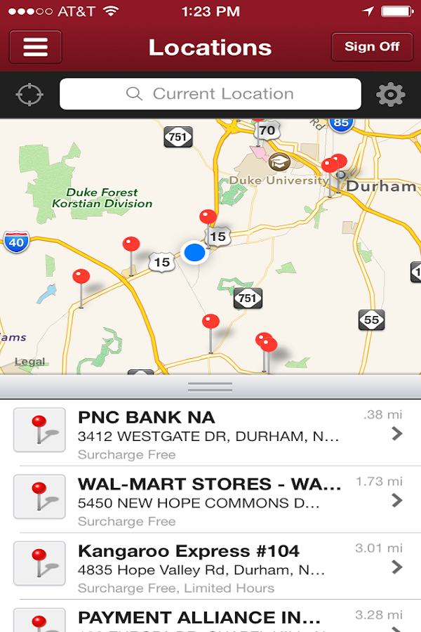 America's Christian CU Mobile - screenshot