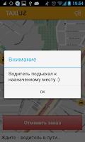 Screenshot of Taxi.Uz
