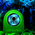 GO Locker Theme humo verde icon