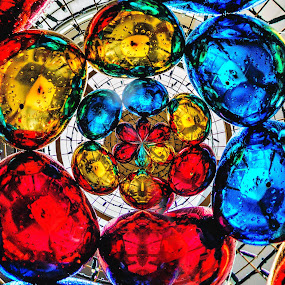 Colorful Ornaments by Lye Danny - Abstract Patterns