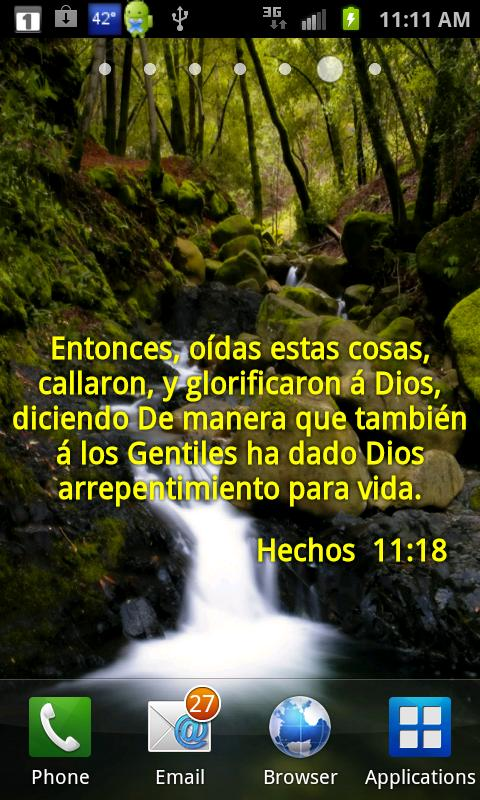Versos Biblicos Wallpaper- screenshot