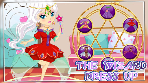 The wizard dress up