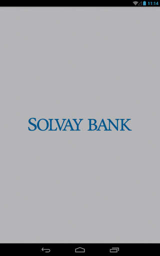 Solvay Bank Mobile for Tablet