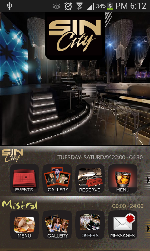 Sin City Club- screenshot