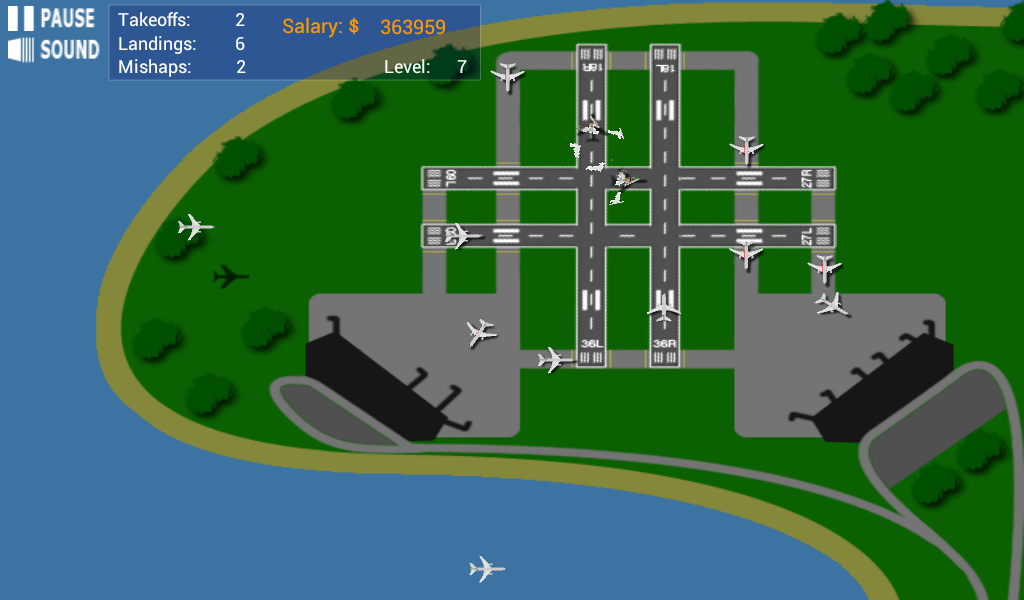 Airport Madness 2- screenshot