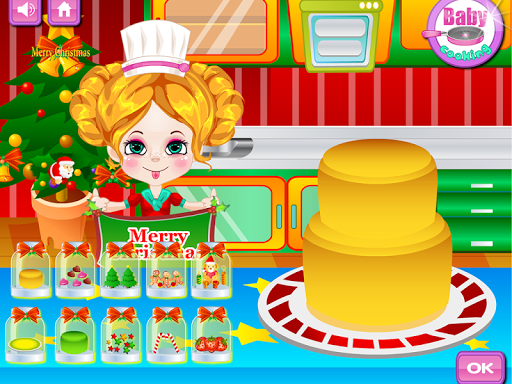 Baby Cake Cooking Games