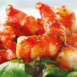 Crayfish And Sorrel Salad
