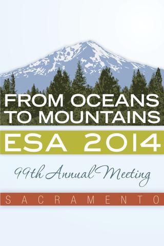 ESA 99th Ann. Meeting and Expo