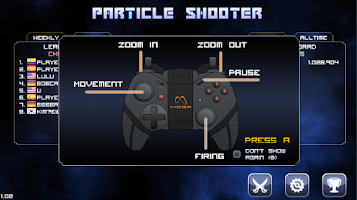 Screenshot of Particle Arcade Shooter