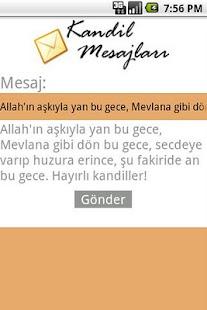 Kandil Mesajlari- screenshot thumbnail