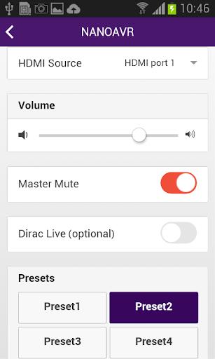 miniDSP control App