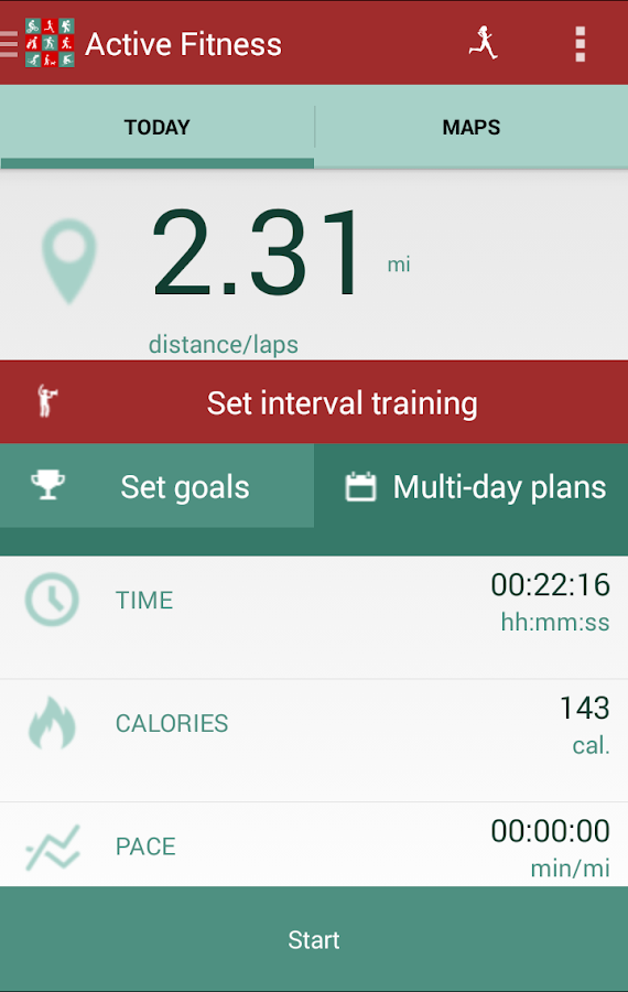 Active Fitness- screenshot