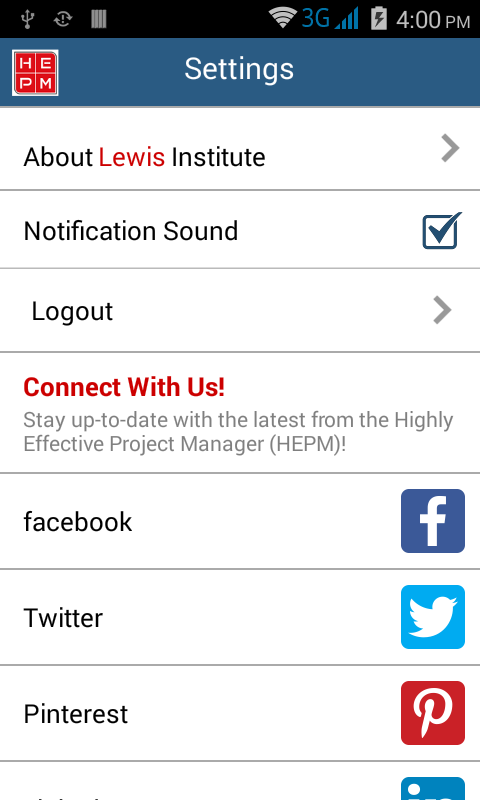 HighlyEffectiveProjectManager- screenshot