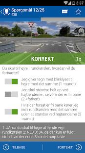 iTeori Trafiktesten Danmark- screenshot thumbnail
