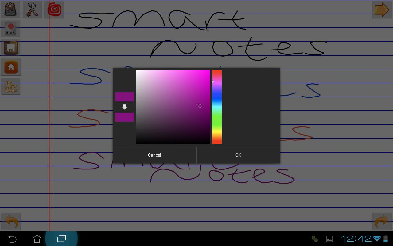 SmartNotes- screenshot