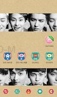 Screenshot of EXO-M DodolTheme ExpansionPack