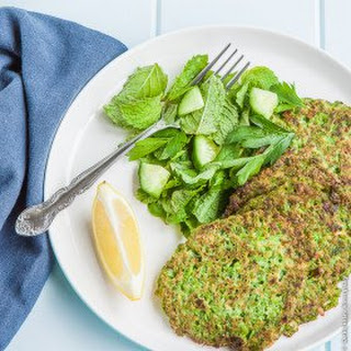 Pea and Mint Pancakes