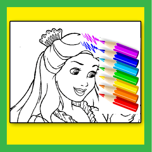 Princess Coloring for Kids